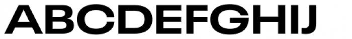 Neue Plak Wide Bold Font UPPERCASE