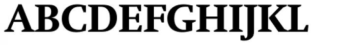 Neue Swift Pro Bold Font UPPERCASE