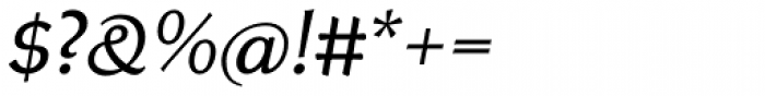 Neue Thannhaeuser Italic Font OTHER CHARS