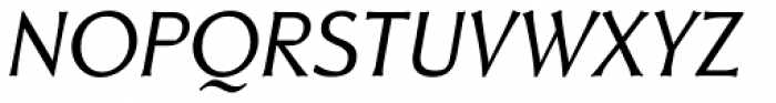 Neue Thannhaeuser Italic Font UPPERCASE