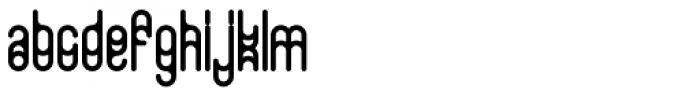 Neue Werner Paperclip Regular Font UPPERCASE