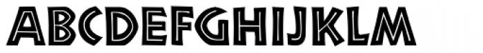 Neuland Inline D Font UPPERCASE