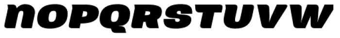 Neultica 4F Alt Black Italic Font LOWERCASE