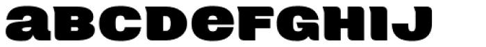 Neultica 4F Alt Black Font LOWERCASE
