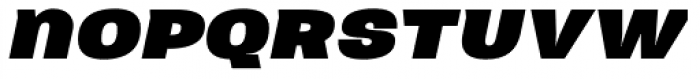 Neultica 4F Black Italic Font LOWERCASE