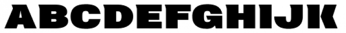 Neultica 4F Black Font UPPERCASE