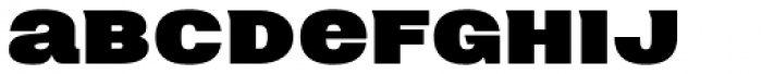 Neultica 4F Black Font LOWERCASE