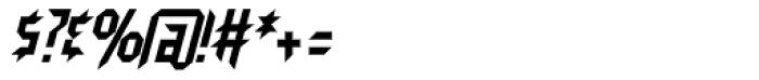 Neuntotter AOE Oblique Font OTHER CHARS