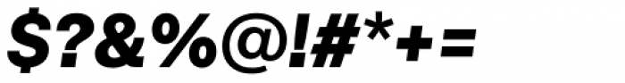 Neurial Grotesk Extrabold Italic Font OTHER CHARS