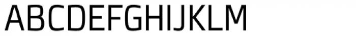 Neuron Angled Light Font UPPERCASE