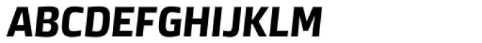 Neuron Angled SC Bold Italic Font LOWERCASE