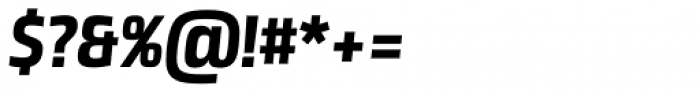 Neuron Angled SC ExtraBold Italic Font OTHER CHARS