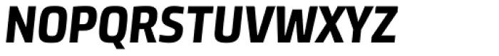 Neuron Angled SC ExtraBold Italic Font UPPERCASE