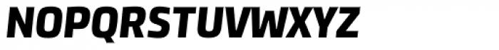 Neuron Angled SC ExtraBold Italic Font LOWERCASE
