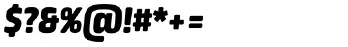 Neuron Black Italic Font OTHER CHARS