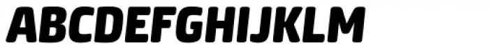 Neuron Black Italic Font UPPERCASE