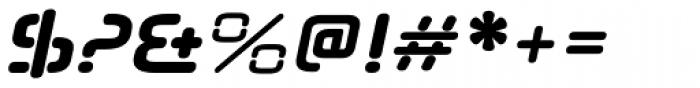 Neuropol Nova Bold Italic Font OTHER CHARS