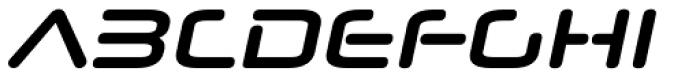 Neuropol Nova Bold Italic Font UPPERCASE