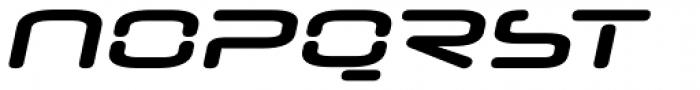 Neuropol Nova Xp Bold Italic Font UPPERCASE