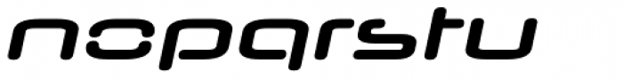 Neuropol Nova Xp Bold Italic Font LOWERCASE