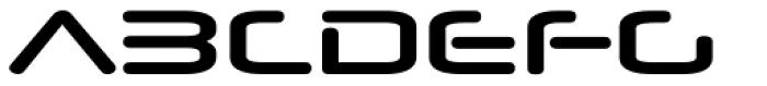 Neuropol Nova Xp Bold Font UPPERCASE