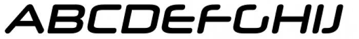 Neuropol X Bold Italic Font UPPERCASE