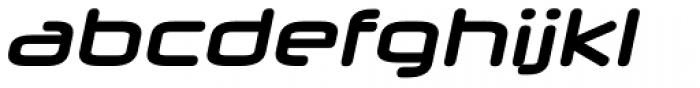 Neuropol X Bold Italic Font LOWERCASE
