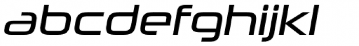 Neuropolitical Book Italic Font LOWERCASE