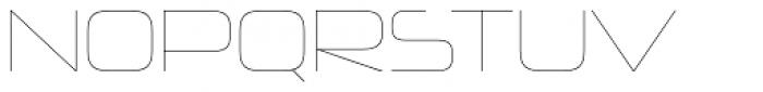 Neuropolitical UltraLight Font UPPERCASE
