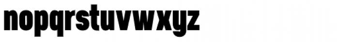 Neusa Black Font LOWERCASE