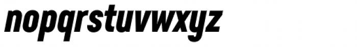Neusa Next Pro Compact Bold Italic Font LOWERCASE