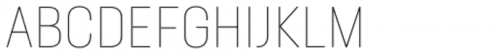 Neusa Next Pro Condensed Thin Font UPPERCASE