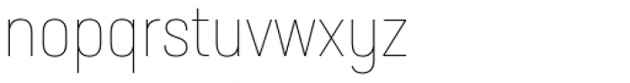 Neusa Next Pro Condensed Thin Font LOWERCASE