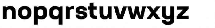 Neusa Next Pro Wide Bold Font LOWERCASE
