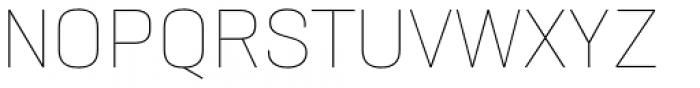Neusa Next Std Thin Font UPPERCASE