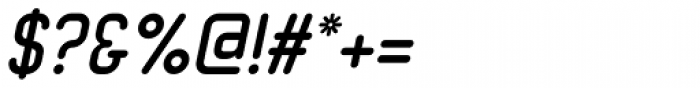 Neutraliser Sans Bold Italic Font OTHER CHARS