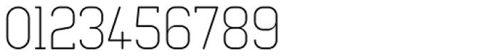 Neutraliser Serif Thin Font OTHER CHARS