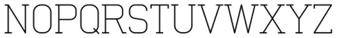 Neutraliser Serif Thin Font UPPERCASE