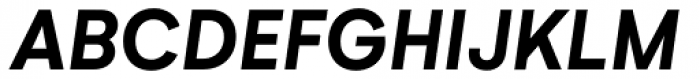 Neutrif Studio Bold Italic Font UPPERCASE
