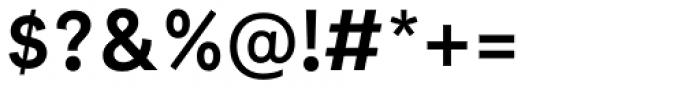 Neutrif Studio Semi Bold Font OTHER CHARS