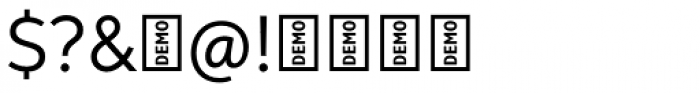 Neutro DEMO Font OTHER CHARS