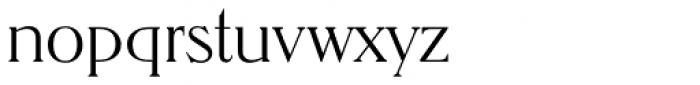 Nevada EF ExtraLight Font LOWERCASE