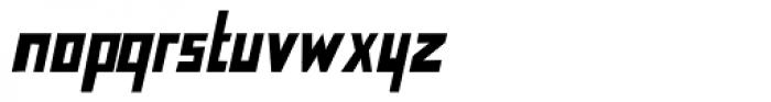 Nevermind Bold Italic Font LOWERCASE