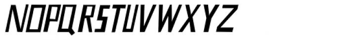 Nevermind Italic Font UPPERCASE