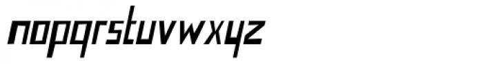 Nevermind Italic Font LOWERCASE