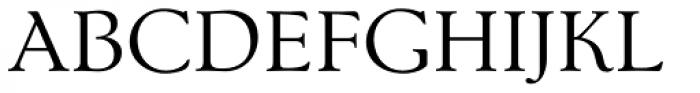 Nevia BT Pro Font UPPERCASE