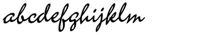 New Amplia Font LOWERCASE