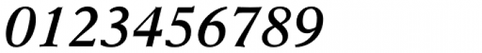 New Aster SemiBold Italic Font OTHER CHARS