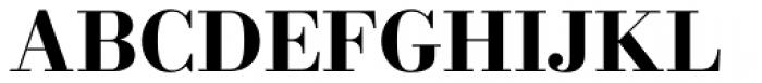 New Bodoni DT Bold Font UPPERCASE