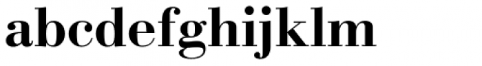 New Bodoni DT Bold Font LOWERCASE